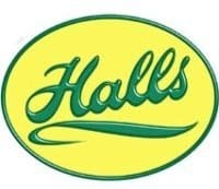 Halls Greenhouse Logo