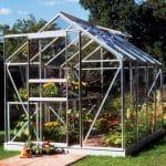 Halls Popular Greenhouse 6x8
