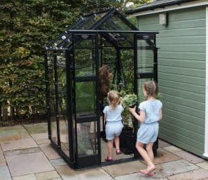 Elite Compact Greenhouse in Black