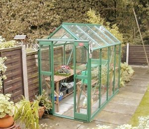 Elite Compact Greenhouse in Green