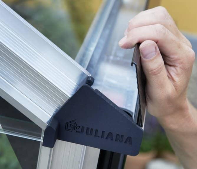Juliana Premium Integral Wide Guttering
