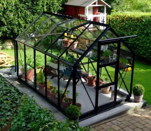 Elite Craftsman Greenhouse in Black