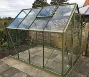 Elite Craftsman Greenhouse in Olive