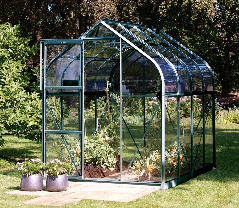 Vitavia Orion greenhouse in green.