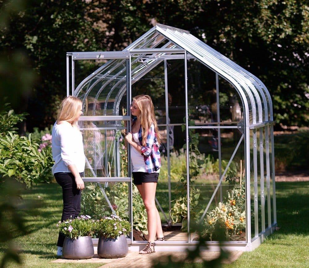Vitavia Orion greenhouse in silver